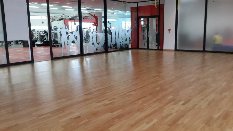 Hevea Sprung Studio Floor